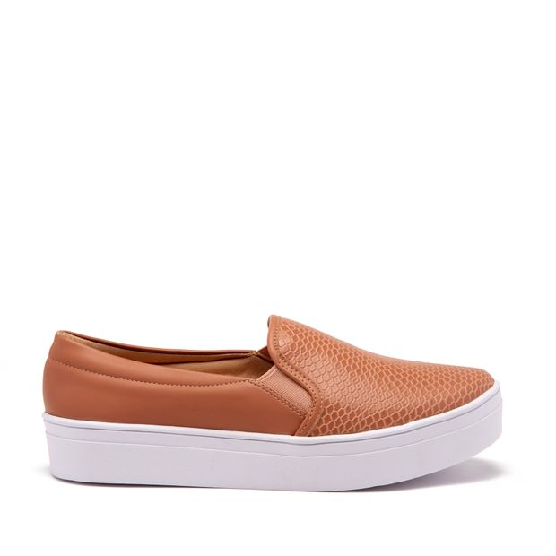 Tenis-Slip-On-Croco-Marrom