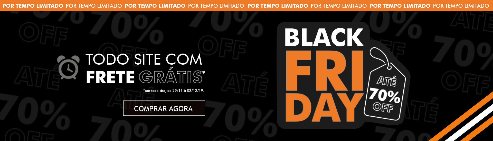 Black Friday + Frete Grátis*