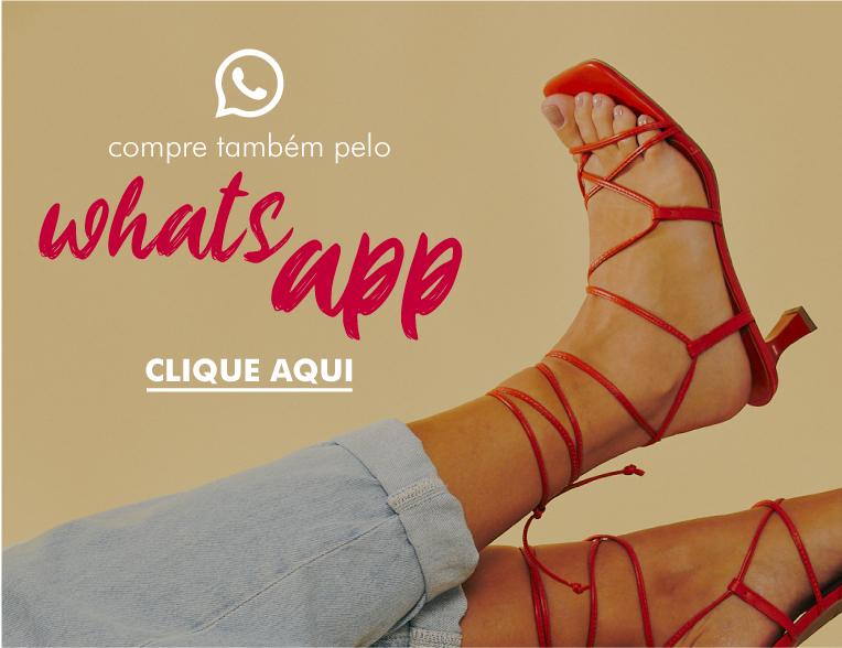 Banner Departamento: WhatsApp + Sapatos