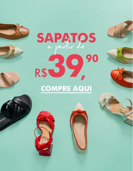 Liqui: Sapatos a partir de R$39,90